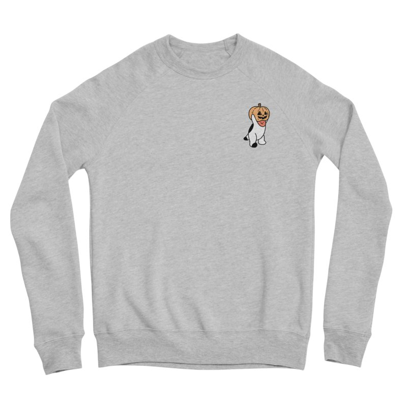 Börk is a Pumpkin Women's Sponge Fleece Sweatshirt by Andrea Bell