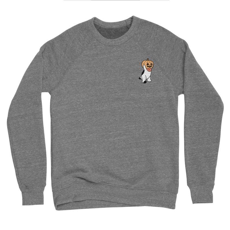 Börk is a Pumpkin Men's Sponge Fleece Sweatshirt by Andrea Bell