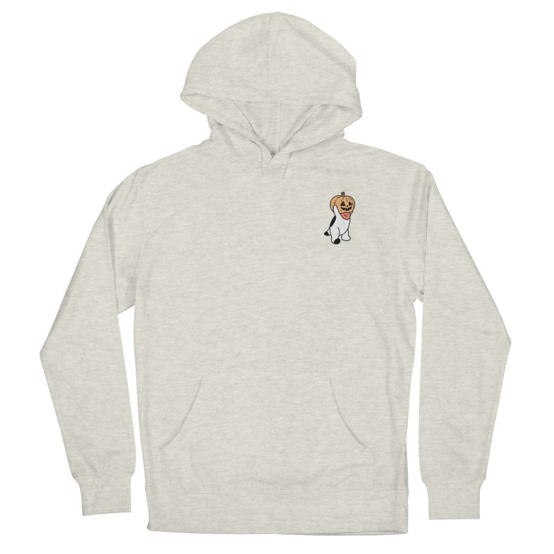 Börk is a Pumpkin Men's French Terry Pullover Hoody by Andrea Bell