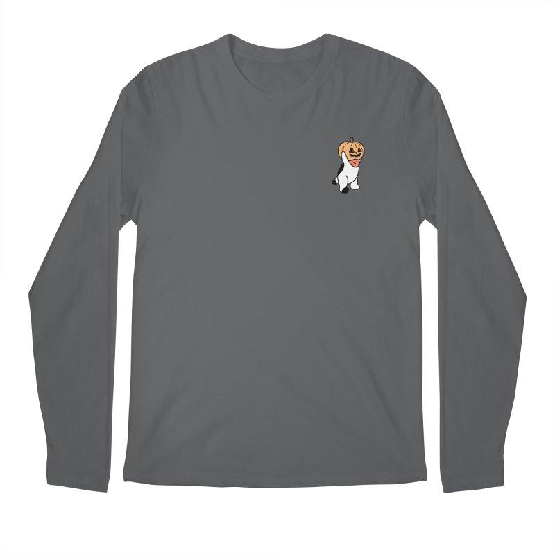 Börk is a Pumpkin Men's Regular Longsleeve T-Shirt by Andrea Bell