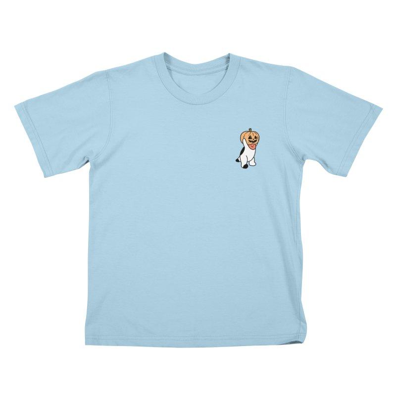 Börk is a Pumpkin Kids T-Shirt by Andrea Bell