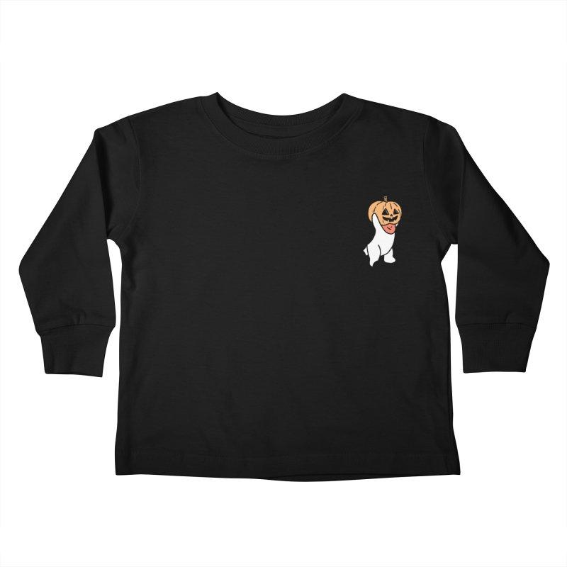 Börk is a Pumpkin Kids Toddler Longsleeve T-Shirt by Andrea Bell