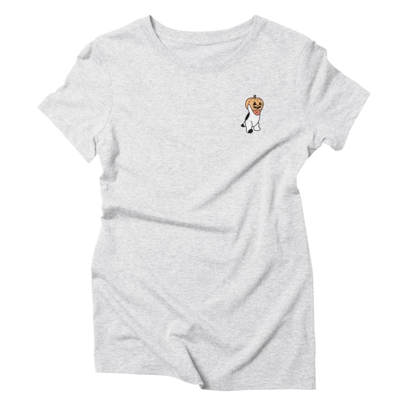 Börk is a Pumpkin Women's Triblend T-Shirt by Andrea Bell