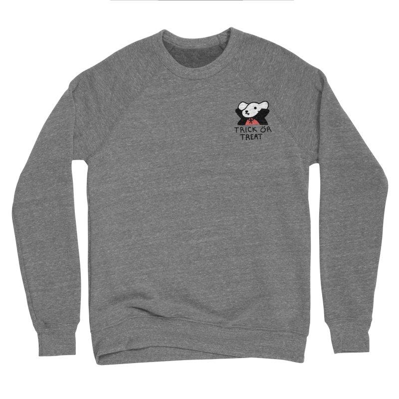 Börk is a Blood Sucker Men's Sponge Fleece Sweatshirt by Andrea Bell