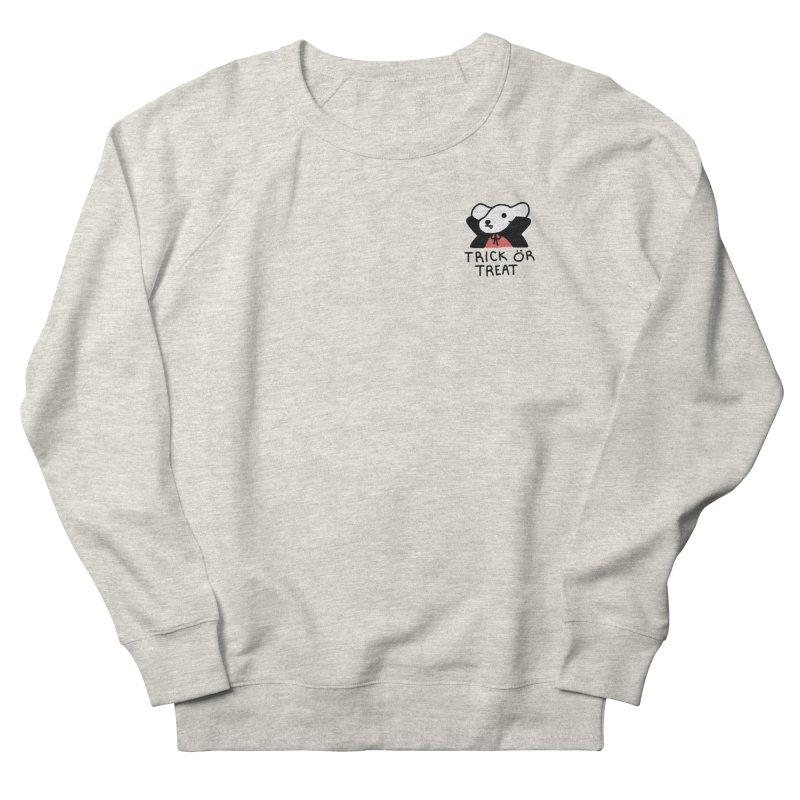 Börk is a Blood Sucker Women's French Terry Sweatshirt by Andrea Bell