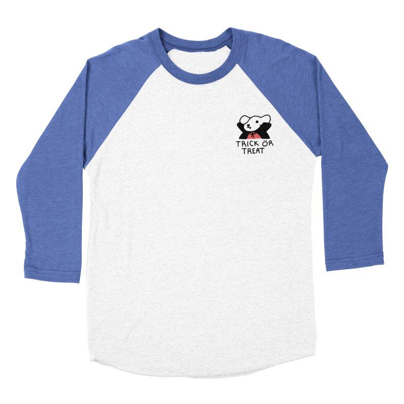 Börk is a Blood Sucker Women's Baseball Triblend Longsleeve T-Shirt by Andrea Bell