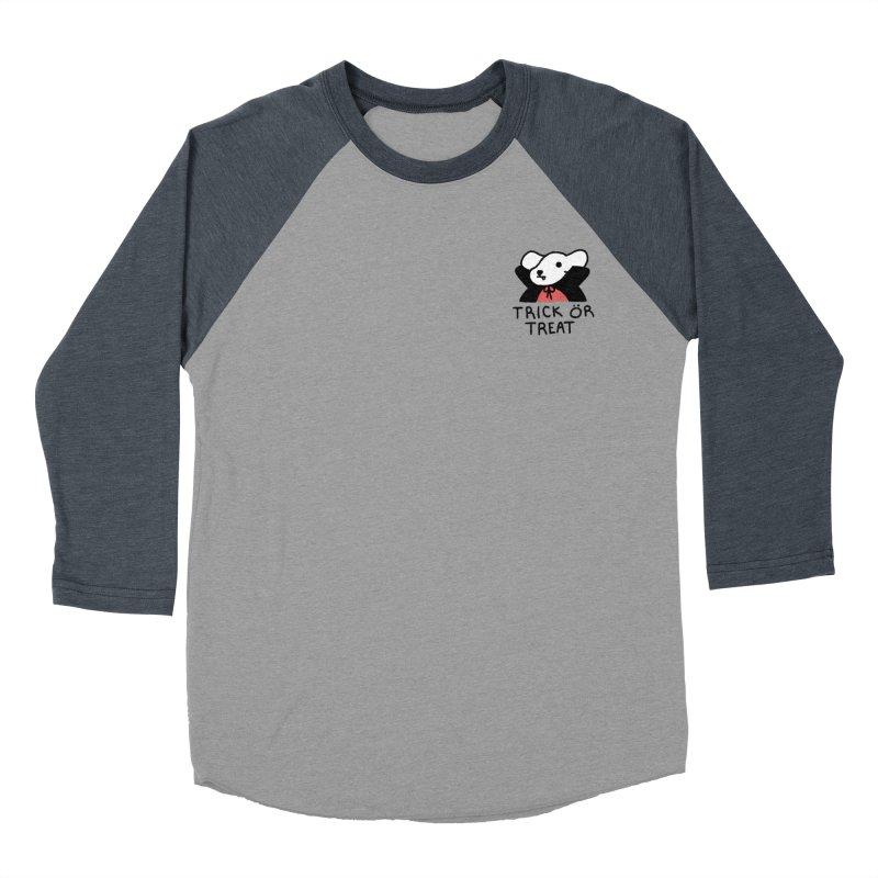 Börk is a Blood Sucker Men's Baseball Triblend Longsleeve T-Shirt by Andrea Bell