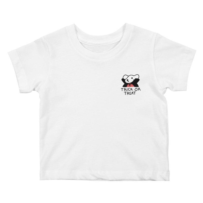 Börk is a Blood Sucker Kids Baby T-Shirt by Andrea Bell