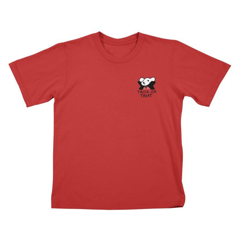 Börk is a Blood Sucker Kids T-Shirt by Andrea Bell