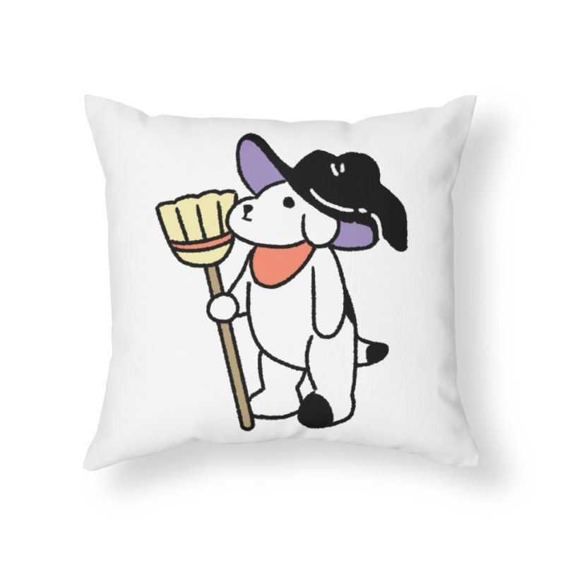 Börk will Cast a Spell Home Throw Pillow by Andrea Bell