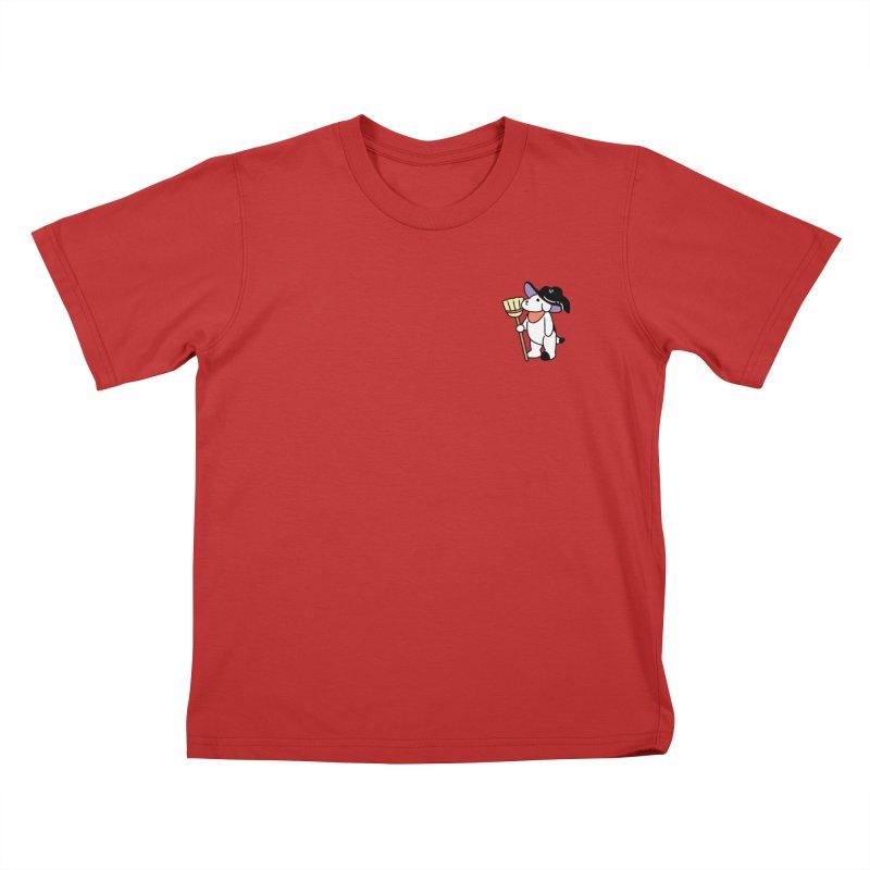 Börk will Cast a Spell Kids T-Shirt by Andrea Bell