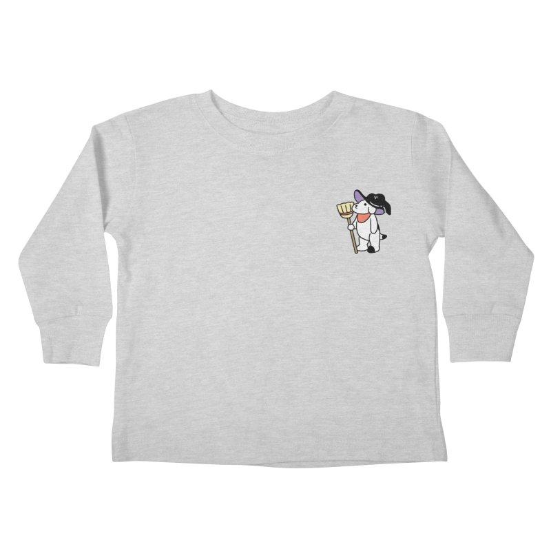 Börk will Cast a Spell Kids Toddler Longsleeve T-Shirt by Andrea Bell