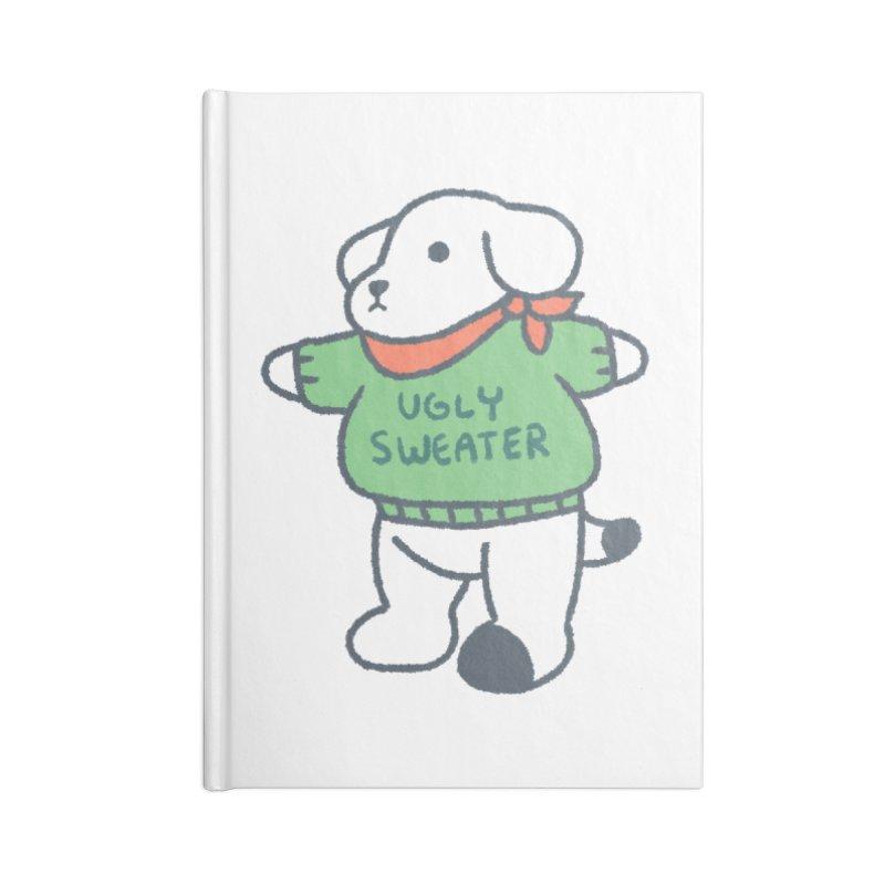 Börk is Festive Accessories Blank Journal Notebook by Andrea Bell