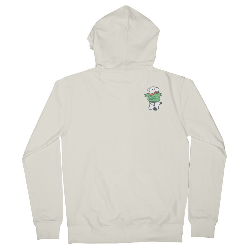 Börk is Festive Women's French Terry Zip-Up Hoody by Andrea Bell