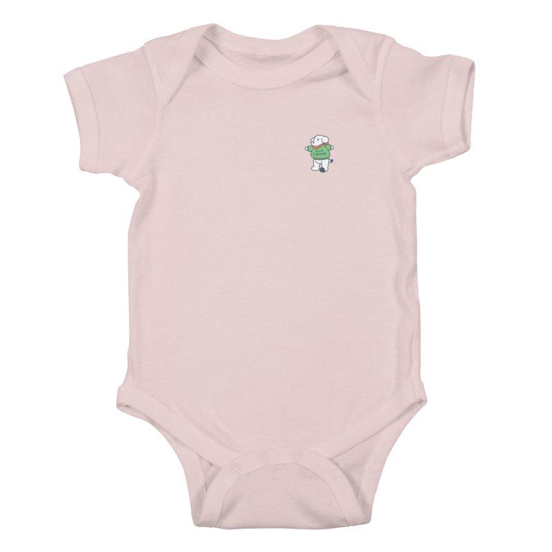 Börk is Festive Kids Baby Bodysuit by Andrea Bell