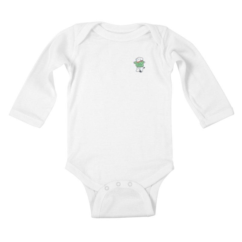 Börk is Festive Kids Baby Longsleeve Bodysuit by Andrea Bell