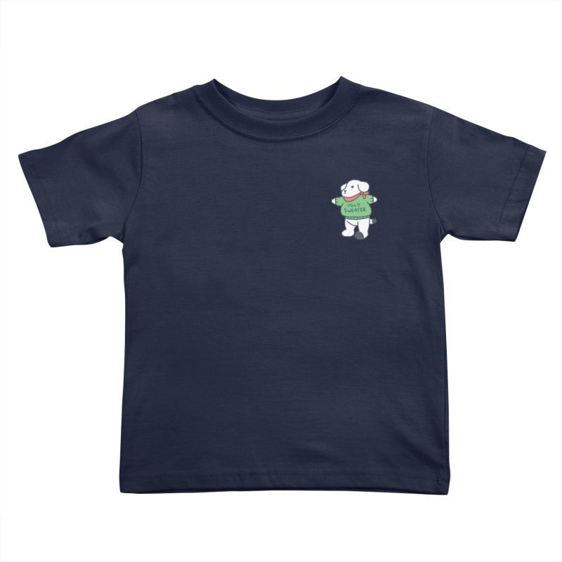 Börk is Festive Kids Toddler T-Shirt by Andrea Bell