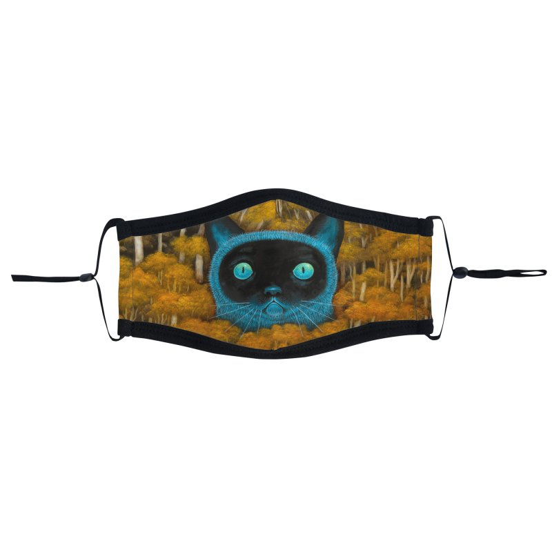 Eyes of the Wild Wonder Accessories Face Mask by andykehoeart's Artist Shop