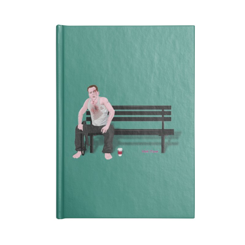 Die Hard - 'Meh'Clane Accessories Notebook by andyman4213's Artist Shop