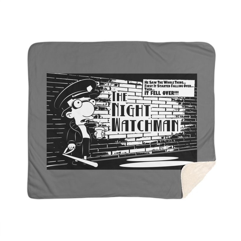 The Night Watchman Home Blanket by andyman4213's Artist Shop
