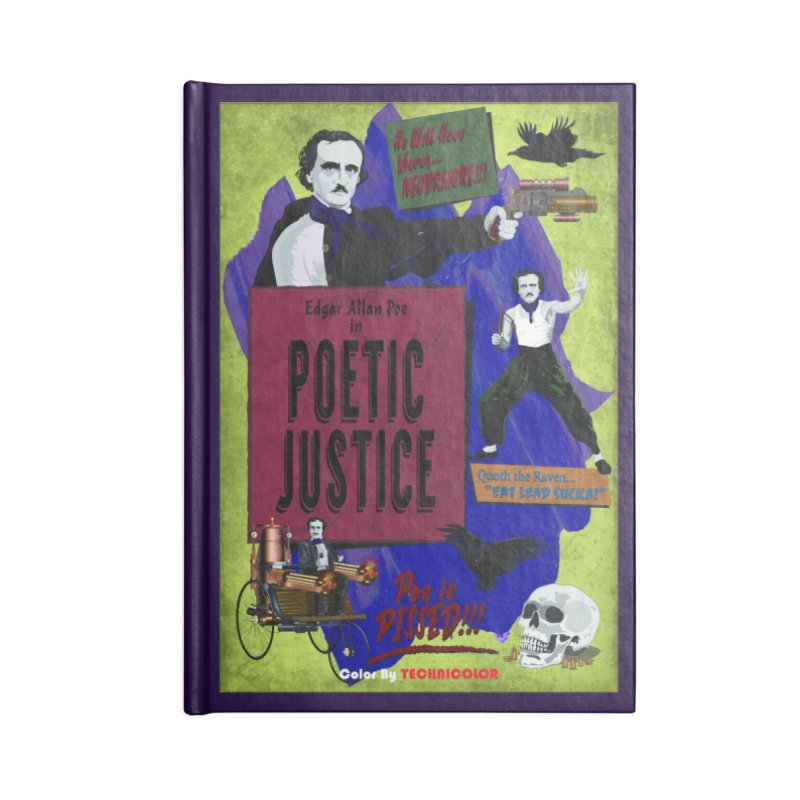 Poetic Justice Accessories Notebook by andyman4213's Artist Shop