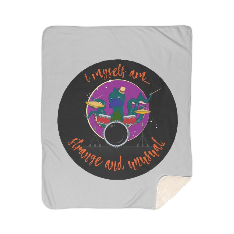 Pleasantly Provocative Pulchritudinous Percussionist Home Blanket by andyman4213's Artist Shop