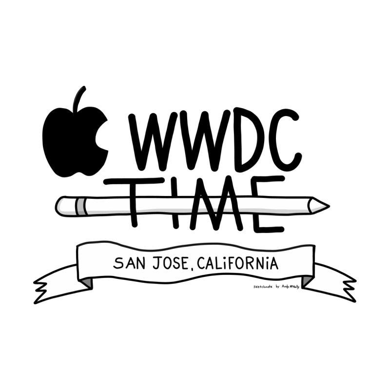 WWDC Time Kids Toddler Pullover Hoody by
