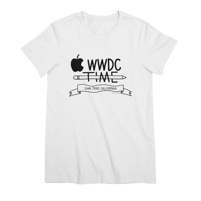WWDC Time Women's Premium T-Shirt by