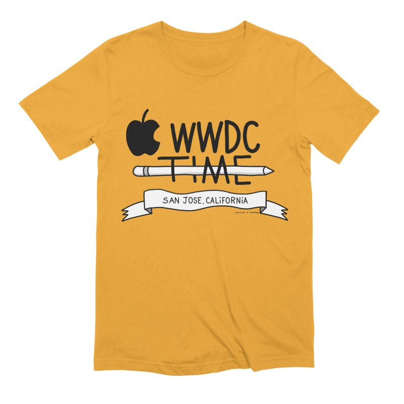 WWDC Time Men's Extra Soft T-Shirt by