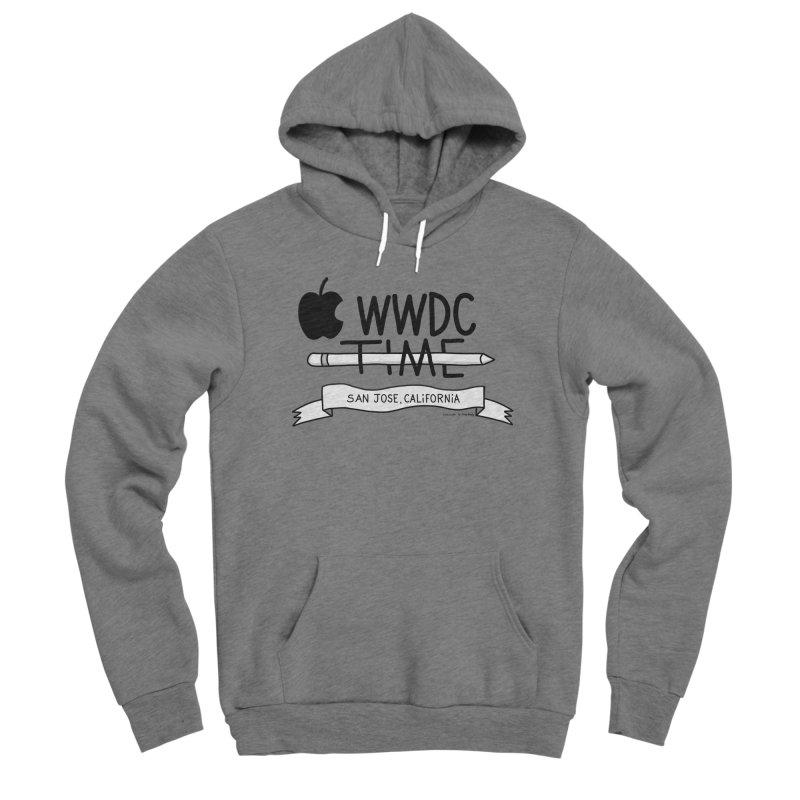 WWDC Time Women's Sponge Fleece Pullover Hoody by