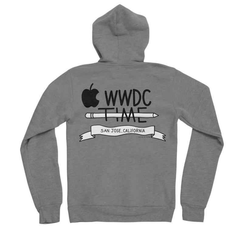 WWDC Time Men's Sponge Fleece Zip-Up Hoody by