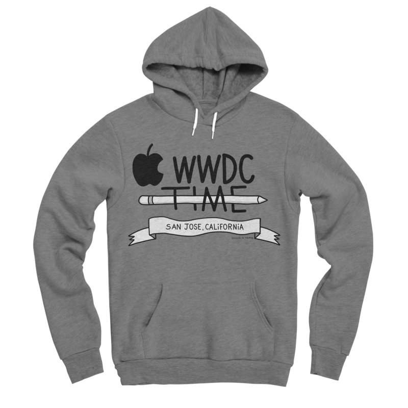 WWDC Time Men's Sponge Fleece Pullover Hoody by