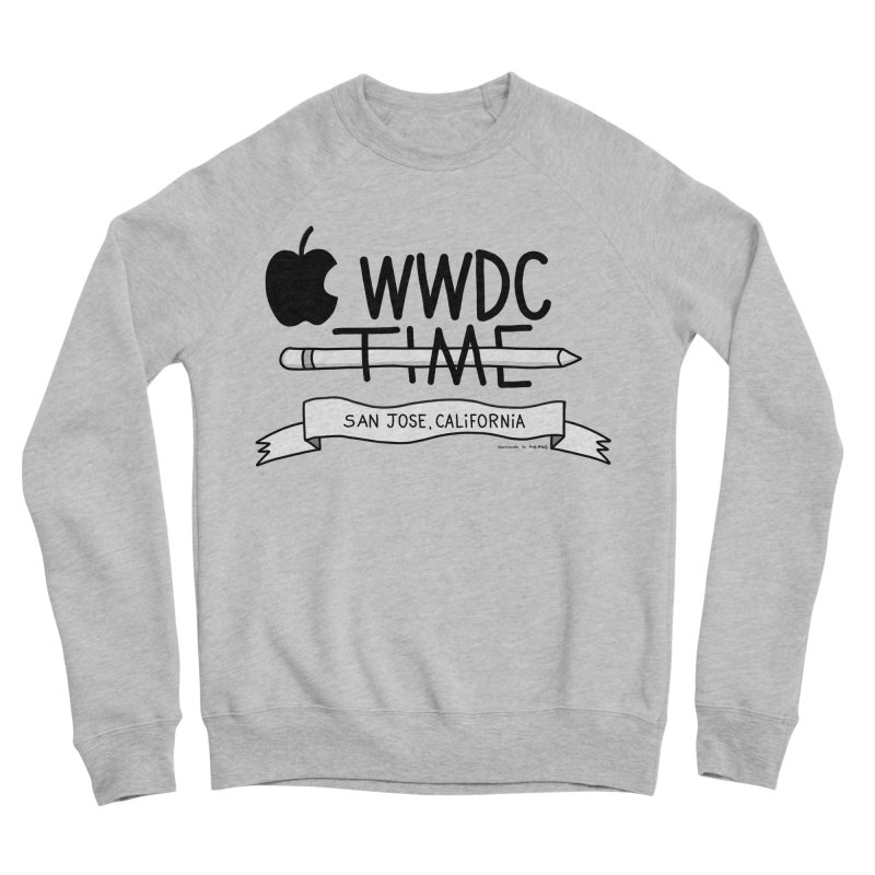 WWDC Time Women's Sponge Fleece Sweatshirt by