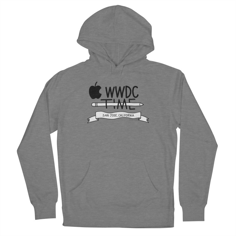 WWDC Time Men's French Terry Pullover Hoody by