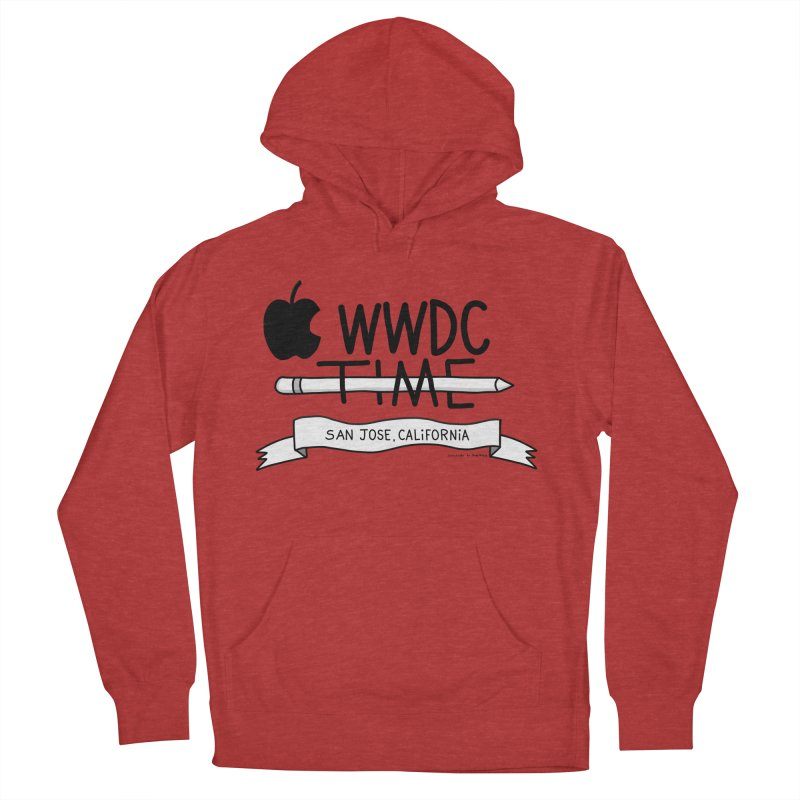 WWDC Time Women's French Terry Pullover Hoody by
