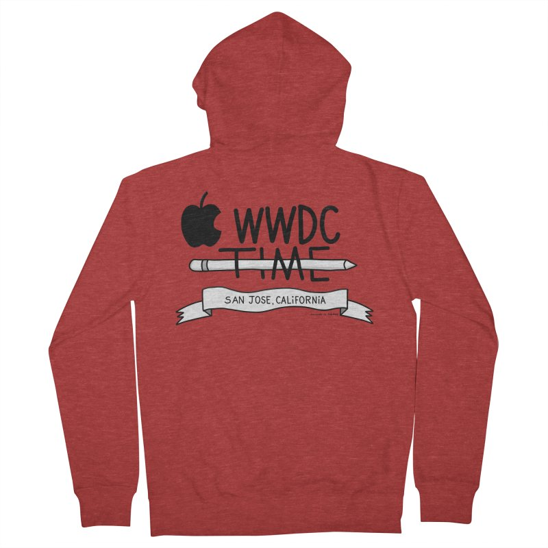 WWDC Time Women's French Terry Zip-Up Hoody by