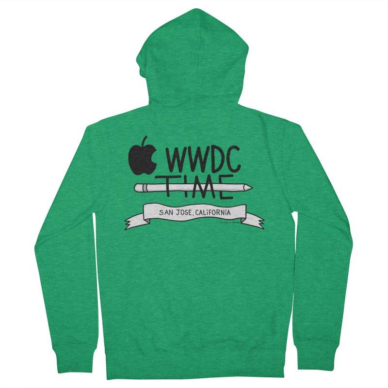 WWDC Time Men's Zip-Up Hoody by
