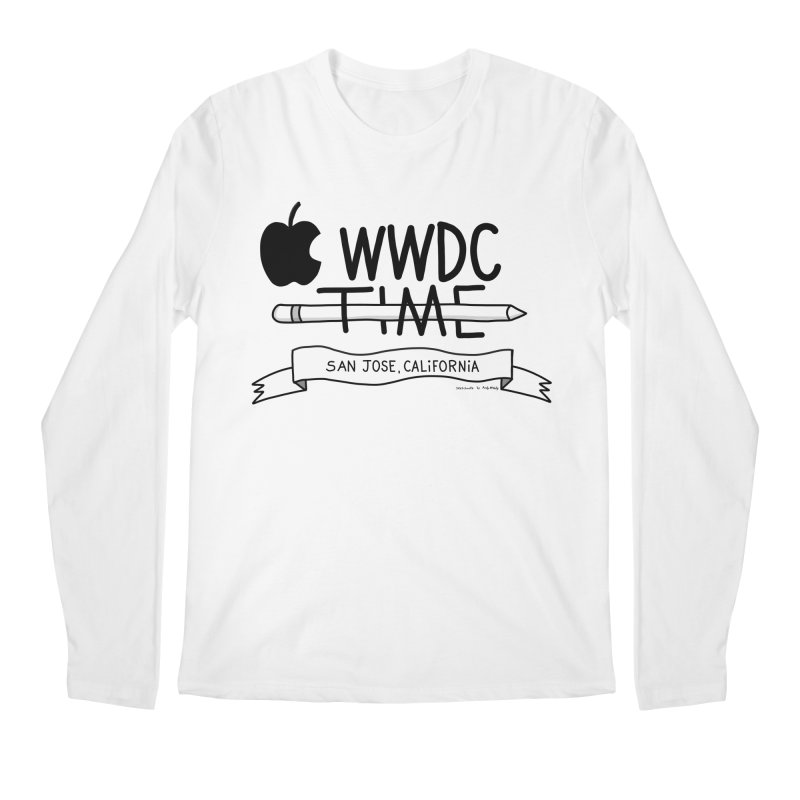 WWDC Time Men's Regular Longsleeve T-Shirt by