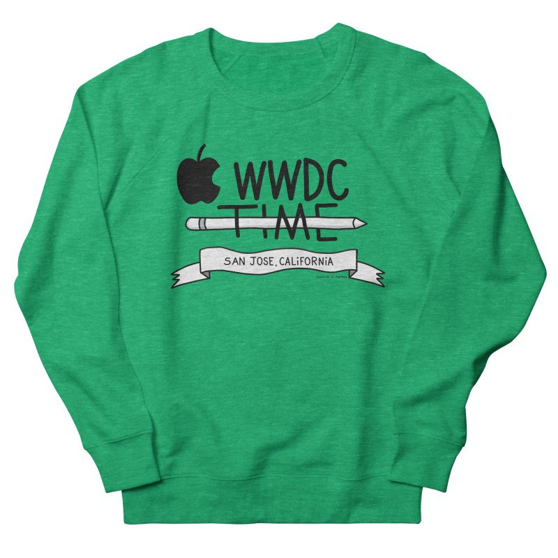 WWDC Time Women's French Terry Sweatshirt by