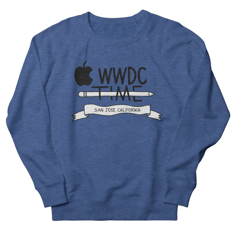WWDC Time Men's French Terry Sweatshirt by