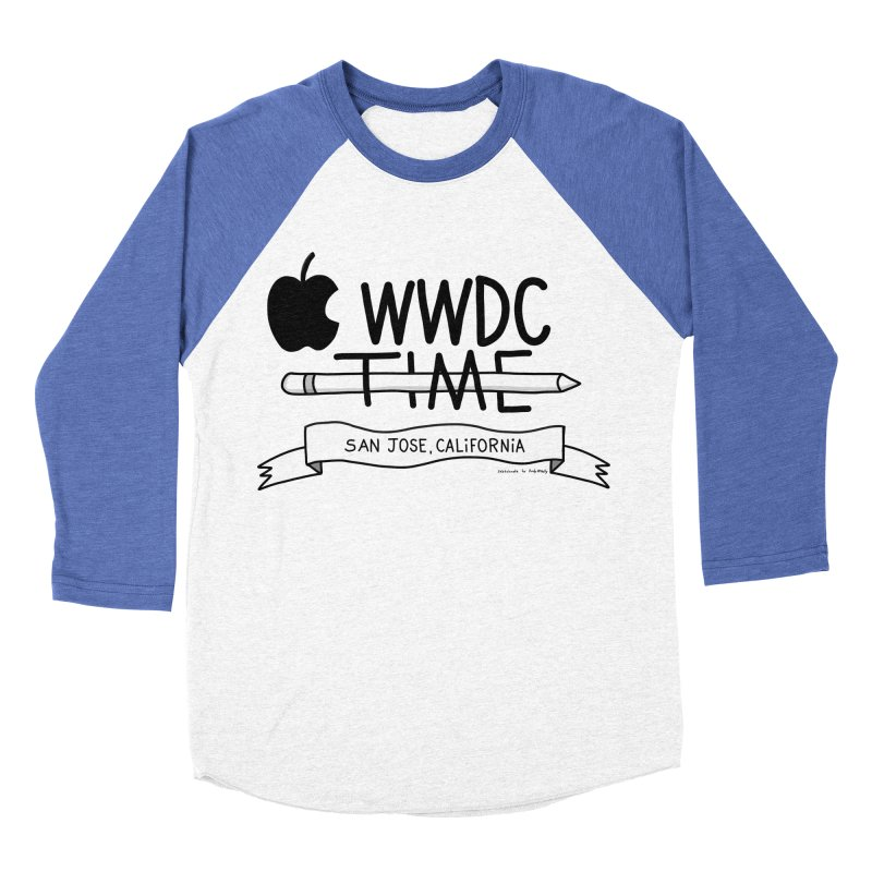 WWDC Time Women's Baseball Triblend Longsleeve T-Shirt by