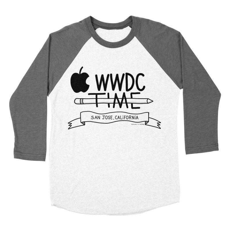 WWDC Time Women's Baseball Triblend Longsleeve T-Shirt by