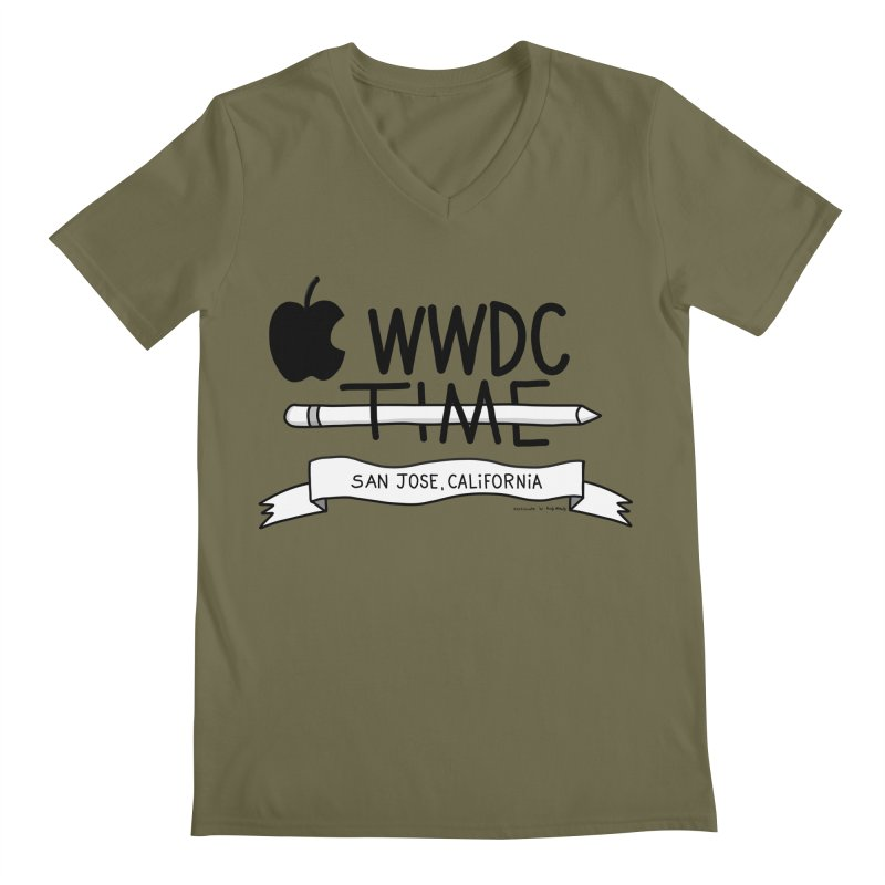 WWDC Time Men's Regular V-Neck by