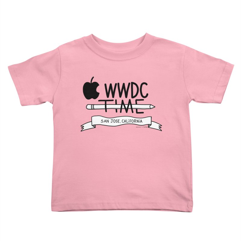 WWDC Time Kids Toddler T-Shirt by