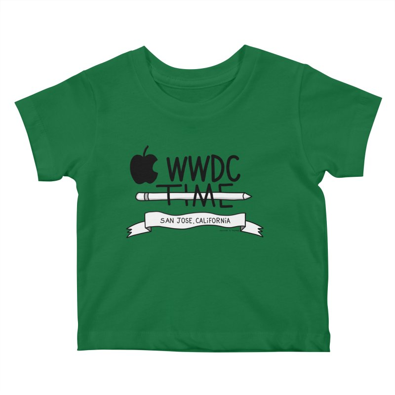 WWDC Time Kids Baby T-Shirt by