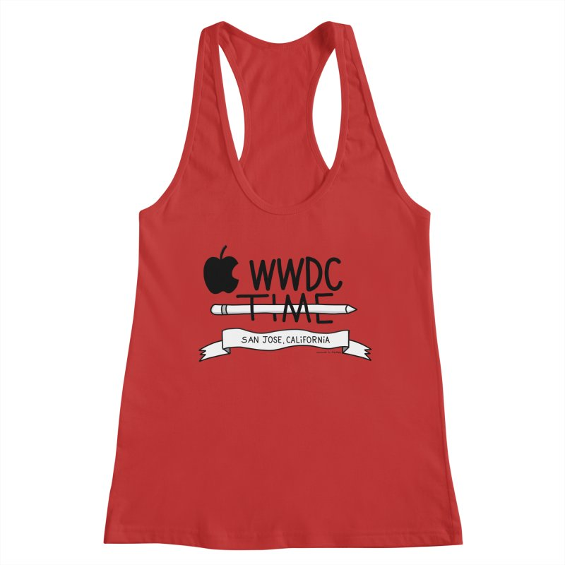 WWDC Time Women's Racerback Tank by