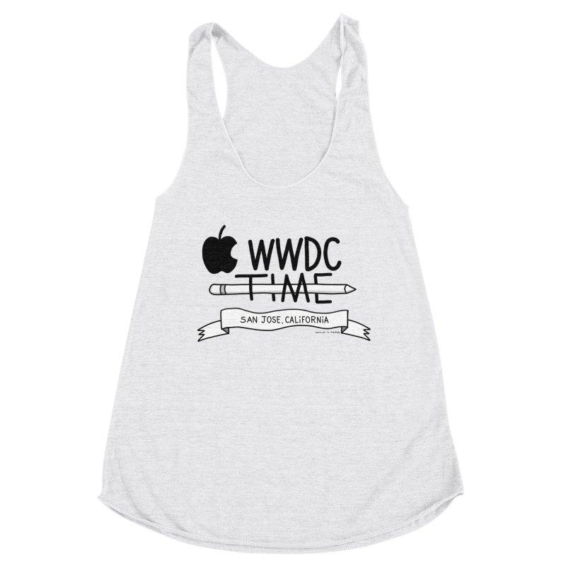 WWDC Time Women's Racerback Triblend Tank by