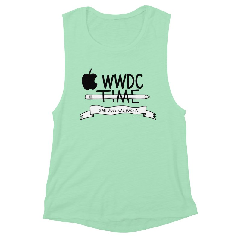 WWDC Time Women's Muscle Tank by