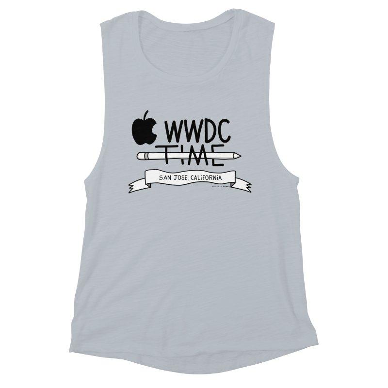 WWDC Time Women's Muscle Tank by