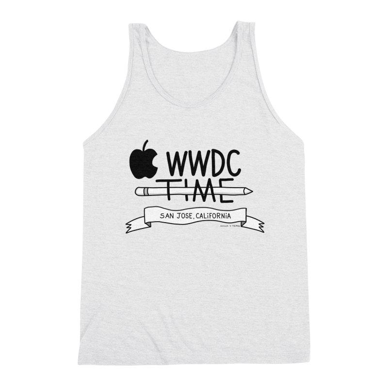 WWDC Time Men's Triblend Tank by